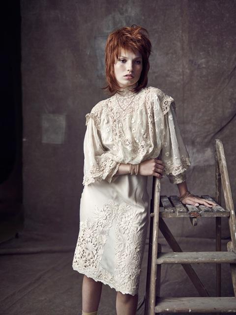 Vintage trouwjurk belgie